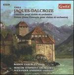 Émile Jacques-Dalcroze: Violin Concertos