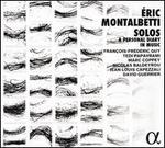 Éric Montalbetti: Solos - A Personal Diary in Music