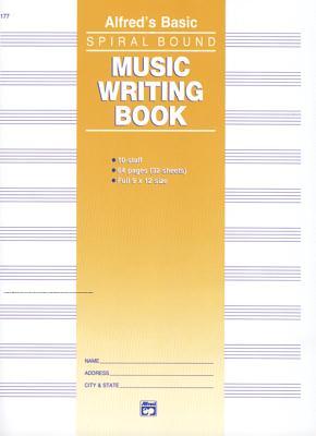 10 Stave Music Writing Book - Manus, Morton