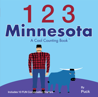 123 Minnesota: A Cool Counting Book - Puck