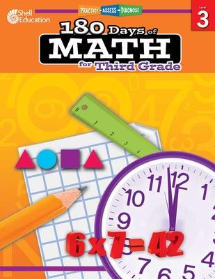 180 Days of Math for Third Grade (Grade 3): Practice, Assess, Diagnose - Smith, Jodene Lynn
