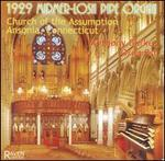 1929 Midmer-Losh Pipe Organ