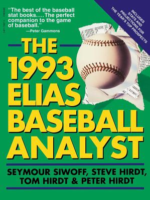 1993 Elias Baseball Analyst - Siwoff, Seymour