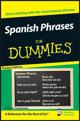 2007 Spanish Phrases for Dummies, Target One Spot Edition - Langemeier, Jessica
