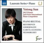 2012 Winner, Jaén Prize International Piano Competition