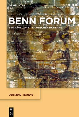 2018/2019 - Gottfried-Benn-Gesellschaft, and Hof, Holger (Editor), and Kraft, Stephan (Editor)