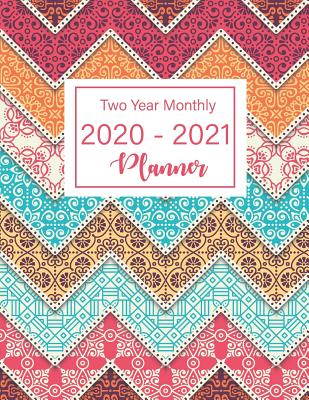 2020-2021 Two Year Monthly Planner: 24 Months Calendar, 2 Year Appointment Calendar, Business Planners, Agenda Schedule Organizer Logbook and Journal with art mandala pattern - Murphy, Graciela
