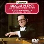 20th Century Piano Sonatas