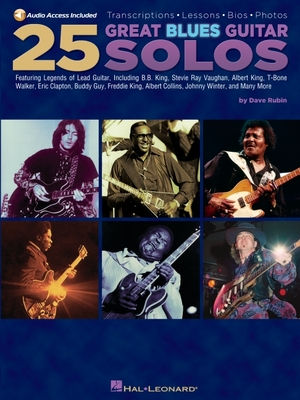 25 Great Blues Guitar Solos - Rubin, Dave
