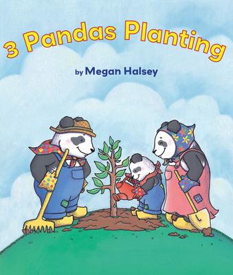 3 Pandas Planting - Halsey, Megan