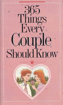 365 Things Every Couple Should Know - Fields, Doug