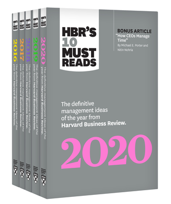 5 Years of Must Reads from Hbr: 2020 Edition (5 Books) - Review, Harvard Business, and Porter, Michael E, and Williams, Joan C