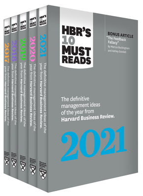 5 Years of Must Reads from Hbr: 2021 Edition (5 Books) - Review, Harvard Business, and Porter, Michael E, and Williams, Joan C