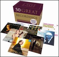 50 Great Recordings - Andreas Staier (harpsichord); Arcadi Volodos (piano); Arthur Rubinstein (piano); Bobby McFerrin (vocals); Cantus Cölln;...