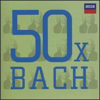 50 x Bach - András Schiff (piano); Anne Sofie von Otter (contralto); Antonio Perez (violin); Arthur Grumiaux (violin); Bach Ensemble;...