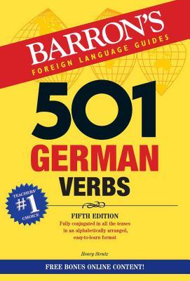 501 German Verbs - Strutz, Henry