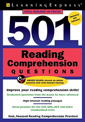 501 Reading Comprehension Questions - Learning Express LLC (Creator)