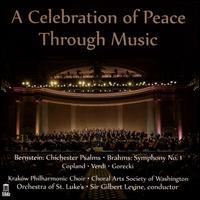 A Celebration of Peace Through Music - Erika Rissi (soprano); Michael Boyce (tenor); Nemeh Azzan (bass); Nicole Piccolomini (alto); Theo Nisbett (vocals);...