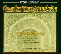 A Journey Through Al-Andalus and Hispania - Bryony Crawford (recorder); Conrad Steinmann (recorder); Ensemble Diferencias; Helma Franssen (recorder);...