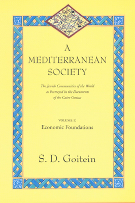 A Mediterranean Society: The Jewish Communities of the Arab World as Portrayed in the Documents of the Cairo Geniza, Vol. I: Economic Foundations - Goitein, S D