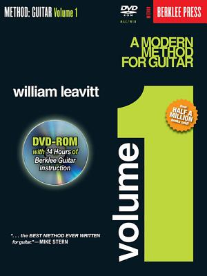 A Modern Method for Guitar - Volume 1: Book/DVD-ROM Pack - Leavitt, William, and Baione, Larry