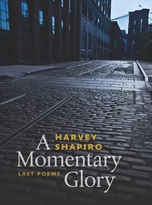 A Momentary Glory: Last Poems - Shapiro, Harvey, and Finkelstein, Norman, Dr. (Editor)
