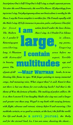 A Novel Journal: Leaves of Grass (Compact) - Whitman
