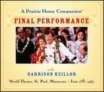 A Prairie Home Companion: Final Performance