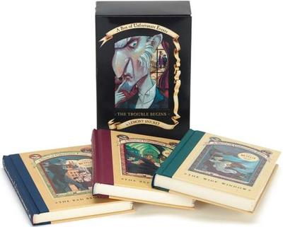 A Series of Unfortunate Events Box: The Trouble Begins (Books 1-3) - Snicket, Lemony