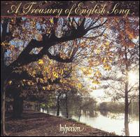 A Treasury of English Song - Anthony Rolfe Johnson (tenor); Christopher Maltman (baritone); Clifford Benson (piano); David Owen Norris (piano);...