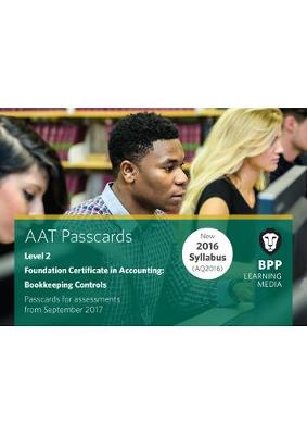 Aat Bookkeeping Controls: Passcards - BPP Learning Media