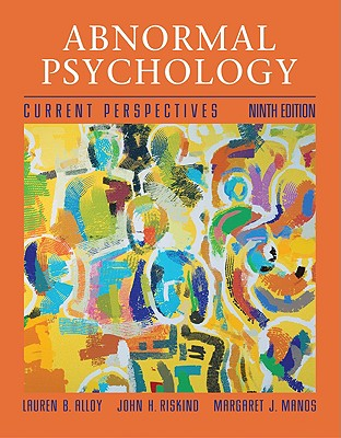 Abnormal Psychology: Current Perspectives with Mindmap Plus CD-ROM - Alloy, Lauren