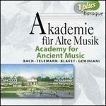 Academy for Ancient Music Plays Bach, Telemann, Blavet, Geminiani