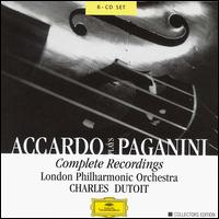 Accardo Plays Paganini: Complete Recordings - Salvatore Accardo (violin); London Philharmonic Orchestra; Charles Dutoit (conductor)