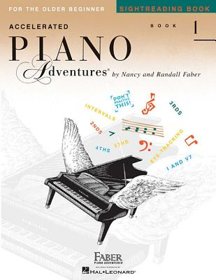 Accelerated Piano Adventures Sightreading Book 1 - Faber, Nancy, and Faber, Randall