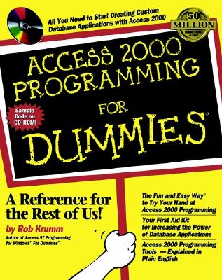 Access 2000 Programming for Dummies - Krumm, Rob