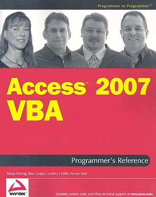 Access 2007 VBA Programmer's Reference - Hennig, Teresa, and Cooper, Rob, and Griffith, Geoffrey L