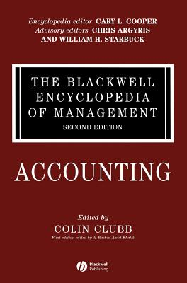 Accounting - Clubb, Colin (Editor)