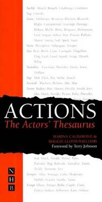 Actions the Actor's Thesaurus - Caldarone, Marina, and Lloyd-Williams, Maggie