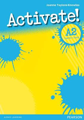 Activate! A2 Teacher's Book - Taylore-Knowles, Joanne