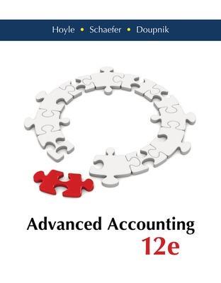 Advanced Accounting - Hoyle, Joe Ben, and Schaefer, Thomas, and Doupnik, Timothy S.
