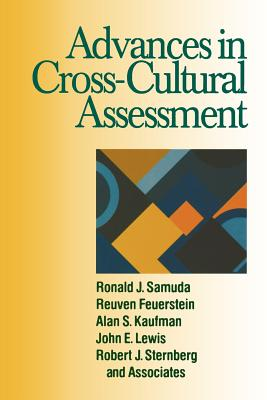 Advances in Cross-Cultural Assessment - Samuda, Ronald J, Dr., and Feuerstein, Reuven, and Kaufman, Alan S