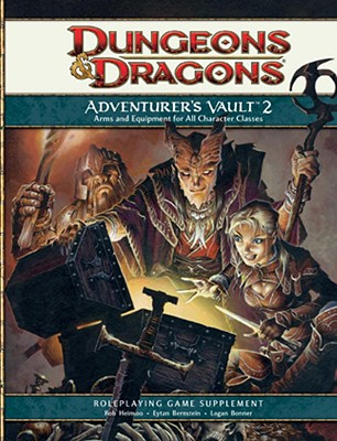 Adventurer's Vault 2: A 4th Edition D&d Supplement - Heinsoo, Rob, and Bernstein, Eytan