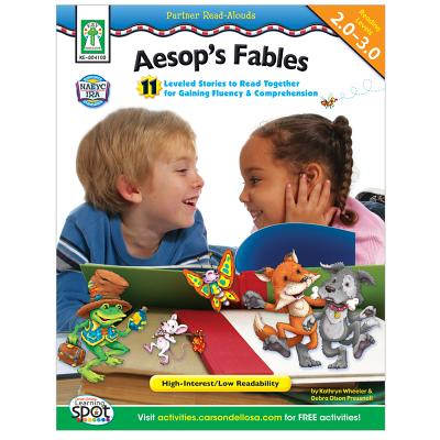 Aesop's Fables: 11 Leveled Stories to Read Together for Gaining Fluency and Comprehension - Wheeler, Kathryn, and Pressnall, Debra Olson