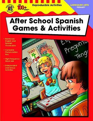 After School Spanish Games & Activities, Grades K - 2 - Chisholm, Virginia