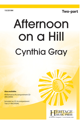 Afternoon on a Hill - Gray, Cynthia (Composer)