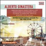 Alberto Ginastera: Obertura para el Fausto Criollo; Variaciones Concertantes; Ollantay (A Symphonic Triptych); Bomarz