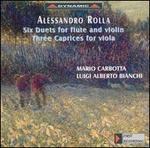 Alessandro Rolla: Six Duets for Flute & Viola; Three Caprices for Viola
