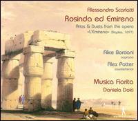 Alessandro Scarlatti: Rosinda ed Emireno - Alex Potter (counter tenor); Alice Borciani (soprano); Musica Fiorita; Daniela Dolci (conductor)