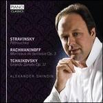 Alexander Ghindin plays Stravinsky, Rachmaninoff, Tchaikovsky